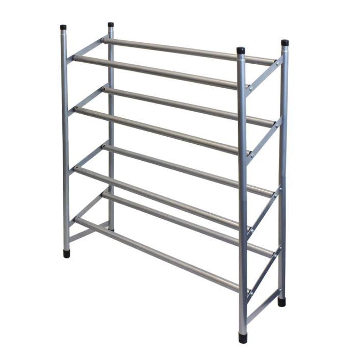 4 tier extendable shoe rack