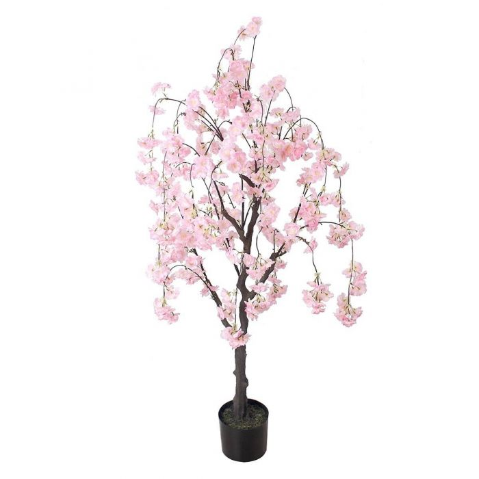 Artificial Pink Cherry Blossom Tree Artificial Trees Guineys
