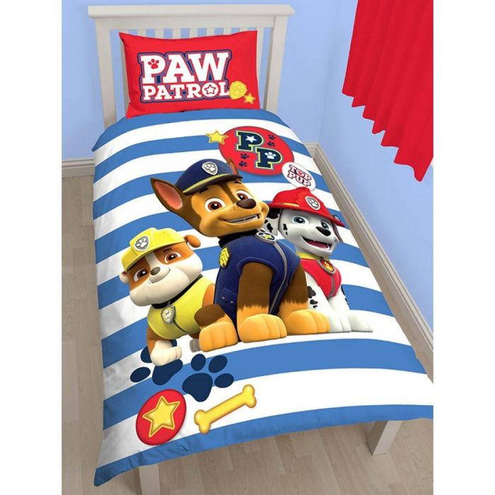 Paw Patrol Pawsome Single Duvet Cover, What Size Is A Single Bed Cover