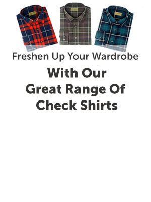 New Tom Hagen Check Shirts Now Online!