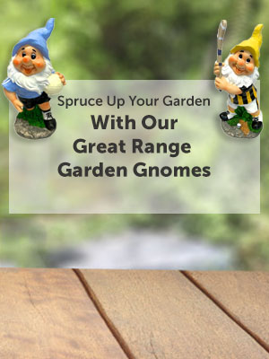 Spruce Up Your Garden With Our Great Range Garden Gnomes