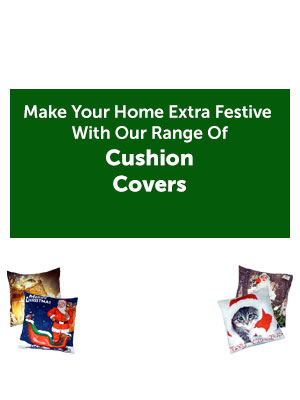 Make Your Home Extra Festive With Our Range Of Cushion Covers