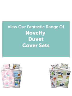 View Our Fantastic Range Of Novelty Duvet Cover Sets!