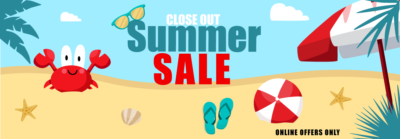 Close Out Summer Sale