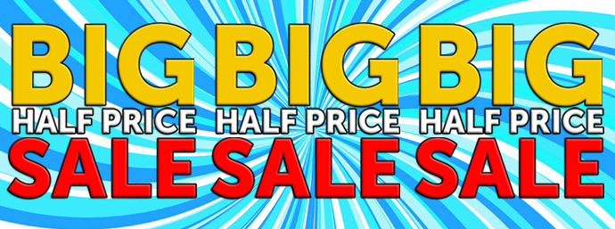 Half Price Sale at Guineys!