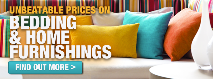 Bedding & Home Furnishings!