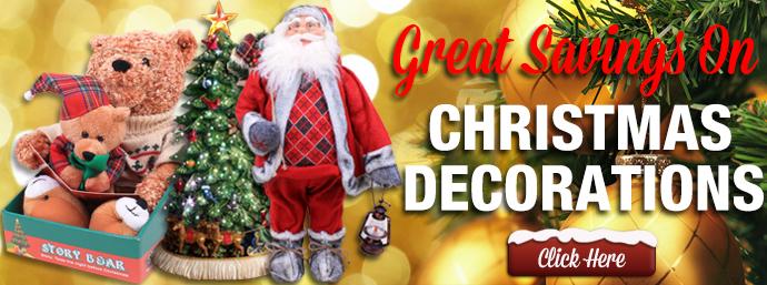 Great Savings On Christmas Decorations!