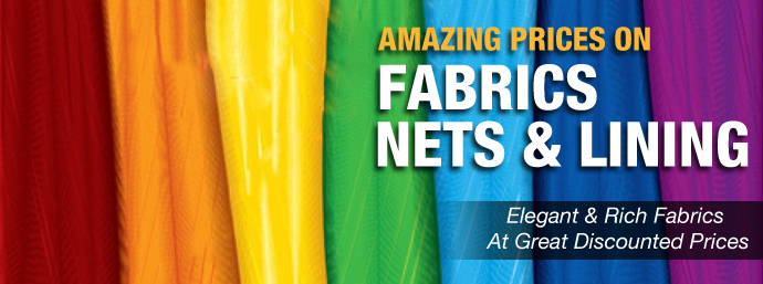 Fabrics, Nets & Linings!