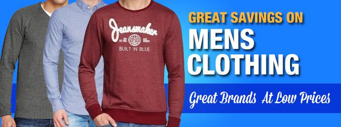 Mens Clothing!