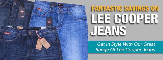 Lee Cooper Jeans!