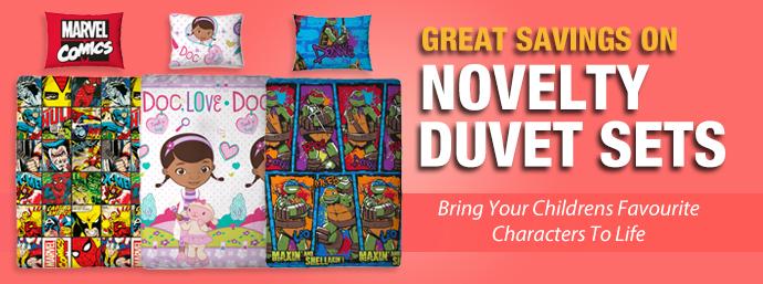 Novelty Duvet Cover Sets!