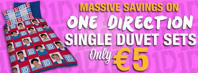 One Direction Duvet Cover Set!