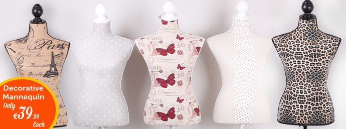 Decorative Mannequins!
