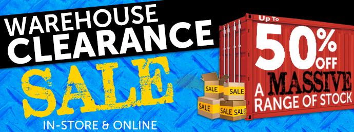 Warehouse Clearance!