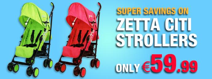 Super Savings On Zetta Citi Strollers